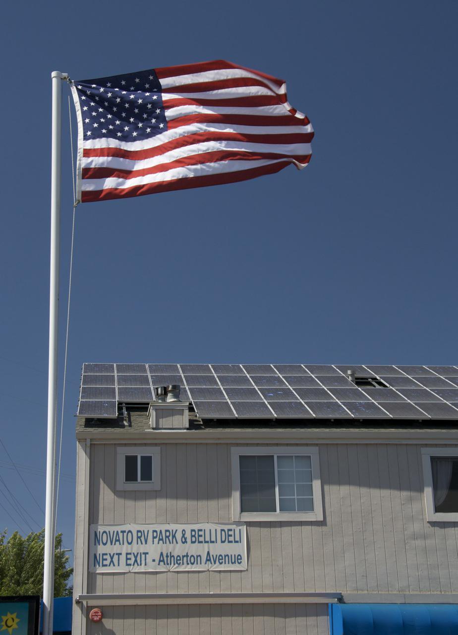 Novato RV Park Solar Panels
